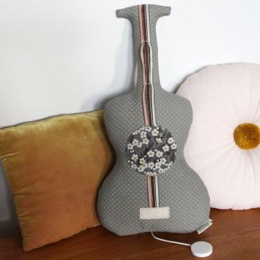 Guitare boite à musique - Les copains d'abord Mitsy