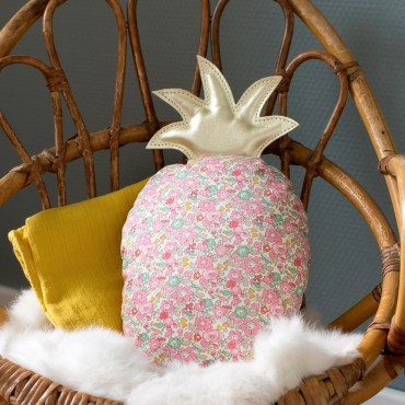 Coussin musical ananas - Une chanson douce