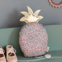 Coussin musical ananas - La vie en rose