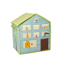 Coffre à jouets en raphia GM - Jungle House