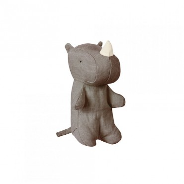Poupée Safari Friends - Rhino small, Gris