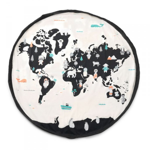 Tapis de jeu et sac de rangement Worldmap