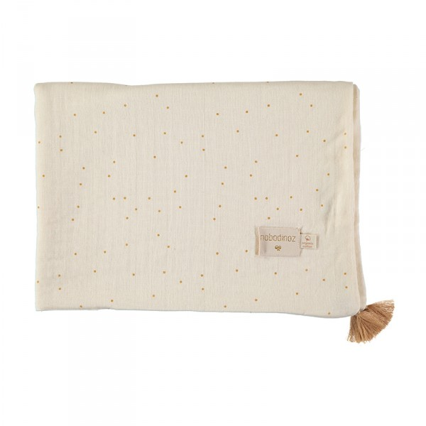 Couverture légère Treasure - Honey Sweet Dots Natural