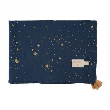 Couverture légère Treasure - Gold Stella Night Blue