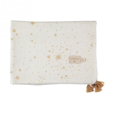 Couverture légère Treasure - Gold Stella White