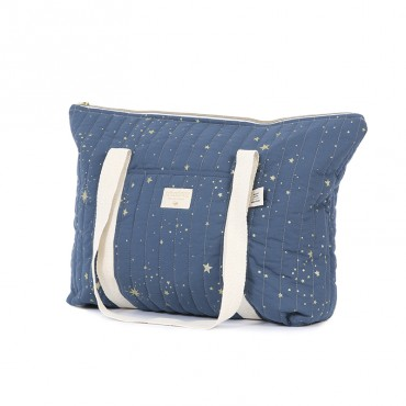Sac à langer Paris - Gold stella Night blue