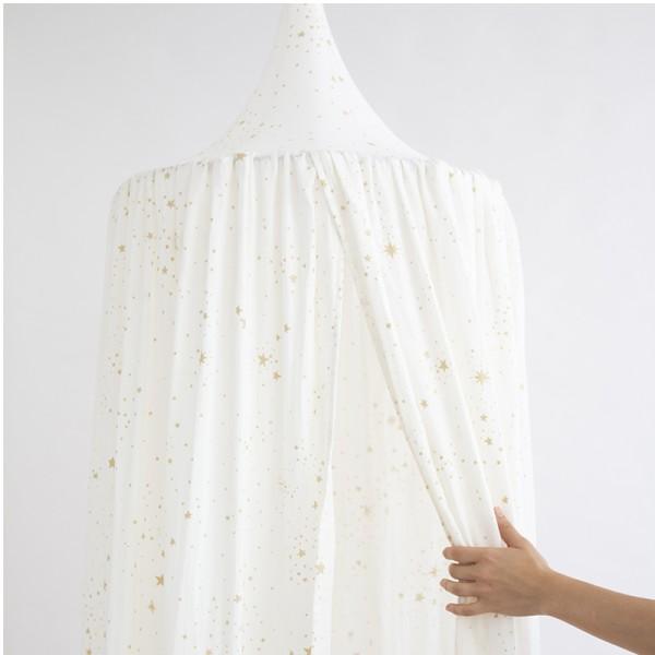 Ciel de lit - Amour Gold stella white