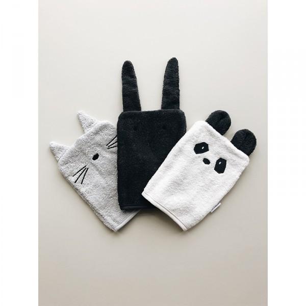 Lot de 3 gants de toilette Sylvester - Classic