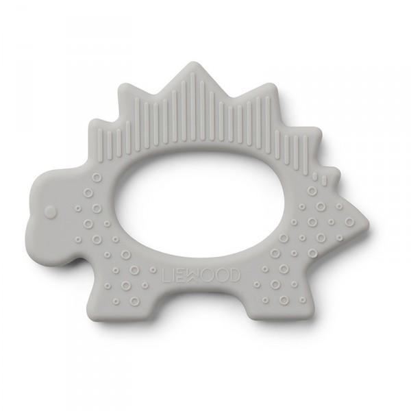 Jouet de dentition Gemma - Dino gris clair