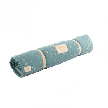 Matelas à langer transportable Nomad - Gold confetti Magic Green