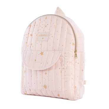 Sac à dos enfant Too cool - Gold stella / Dream pink