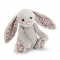 Peluche lapin Bashful blossom gris