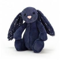 Peluche lapin Bashful - Bleu nuit Stardust