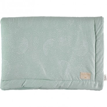 Couverture Laponia - White Bubble/Aqua