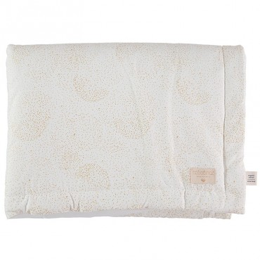 Couverture Laponia - Gold Bubble/White
