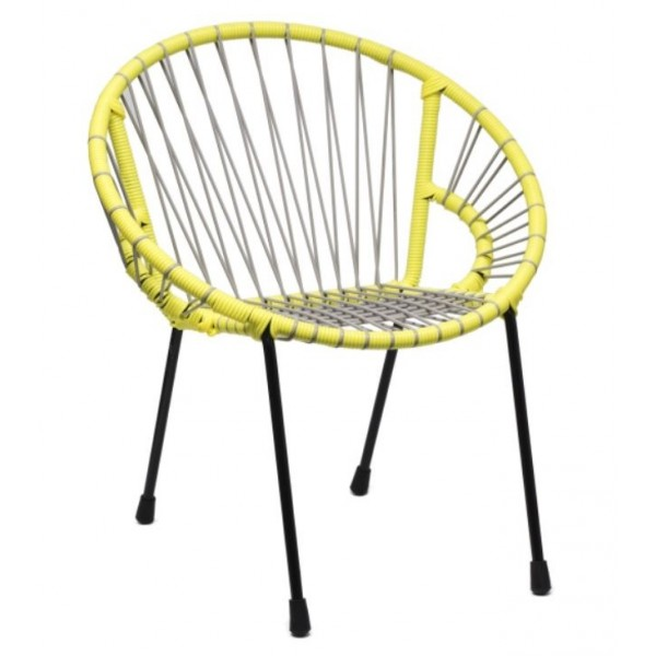Chaise enfant Tica - Yellow Mellow