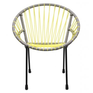Chaise enfant Tica - Mellow Yellow