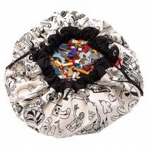 Tapis de jeu et sac de rangement OMY Color My Bag Paris