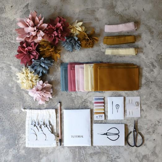 Kit créatif fleurs - Autumn