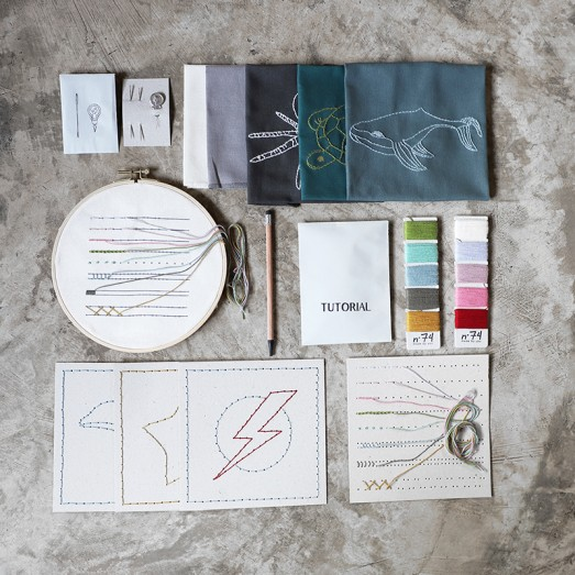 Made By You - Kit broderie enfant Sea