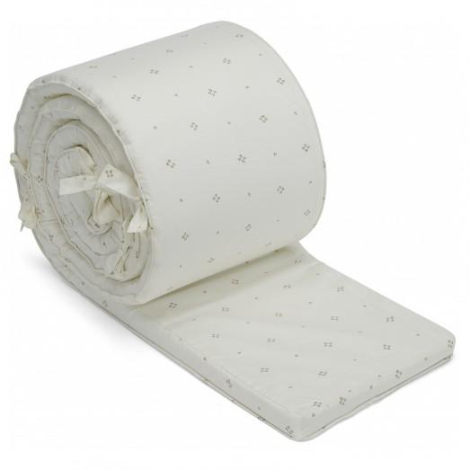 Tour de lit en coton bio - Camille