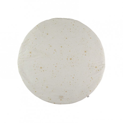 Tapis rond Full Moon - Gold Stella / Natural