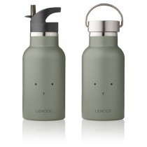 Gourde isotherme Anker - Lapin vert faune green