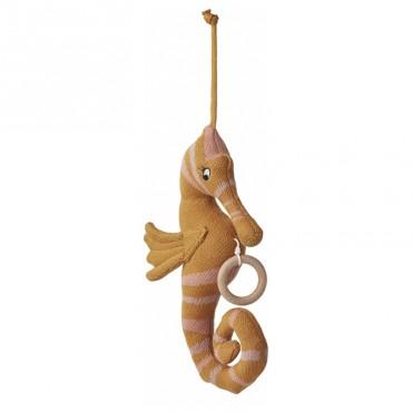Mobile musical Angela - Hippocampe moutarde