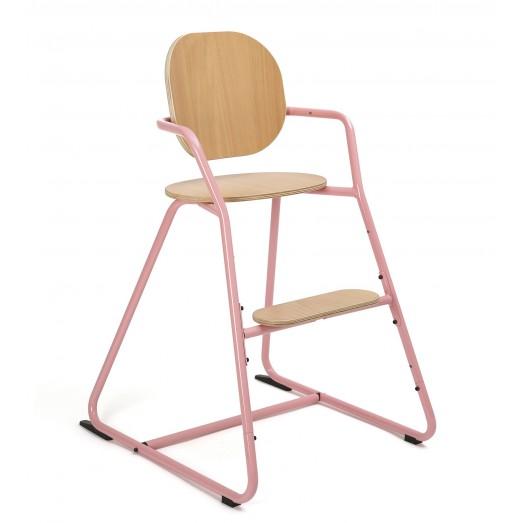 Chaise haute évolutive TIBU - Rose