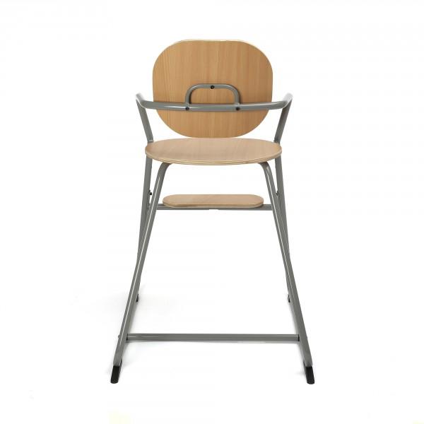 Chaise haute évolutive TIBU - Gris