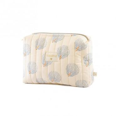 Trousse de toilette Travel - Blue Gatsby / Cream