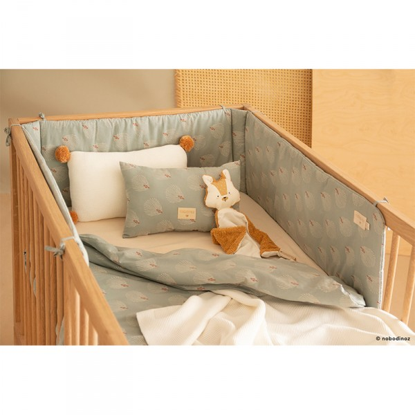 Tour de lit Nest - Blue Gatsby/Cream