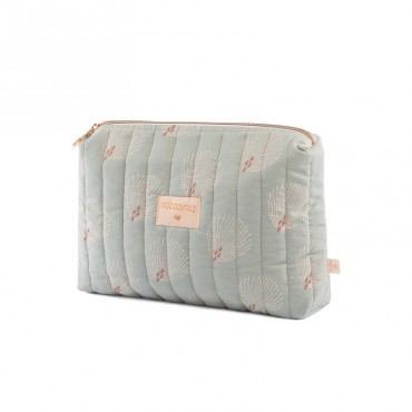 Trousse de toilette Travel - White Gatsby / Green antique