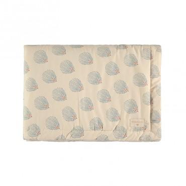 Couverture Laponia - Blue Gatsby/Cream