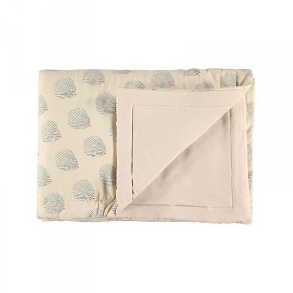 Couverture Laponia - Blue Gatsby/Cream