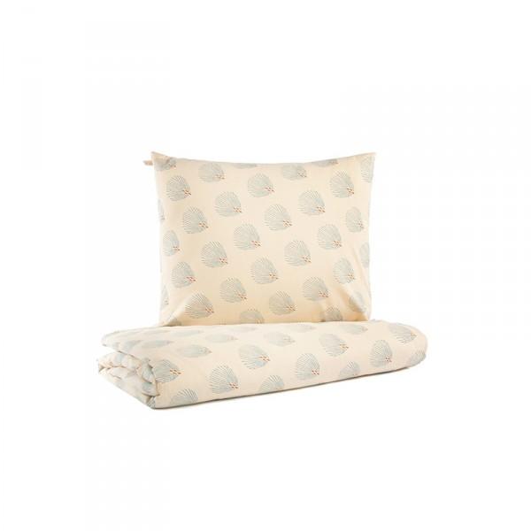 Parure de lit bébé Himalaya - Blue Gatsby / Cream