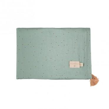Couverture légère Treasure - Toffee sweet dots / Eden green