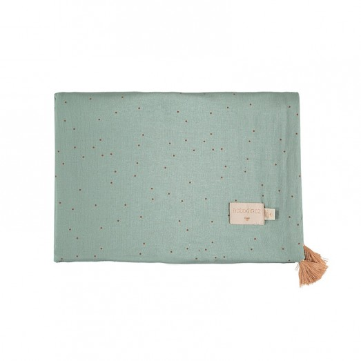 Couverture légère Treasure - Toffee sweet dots / Eden green