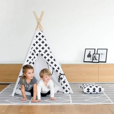 Tapis de jeu en mousse - Nordic Pebble