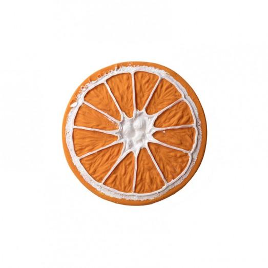 Jouet de dentition – Clementino l'orange