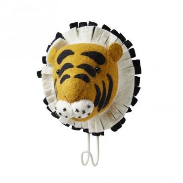 Patère en feutrine - Tigre