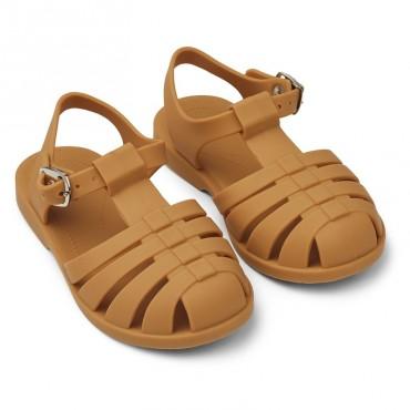 Sandales été Bre - Moutarde