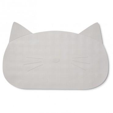 Tapis de bain Storm - Chat gris