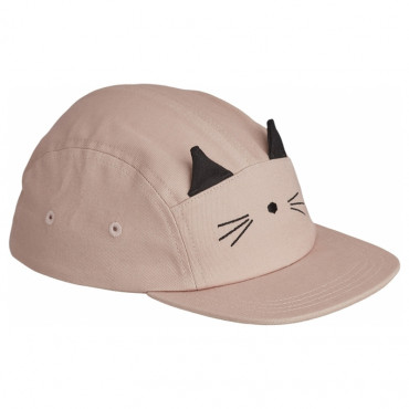 Casquette enfant Rory - Chat rose