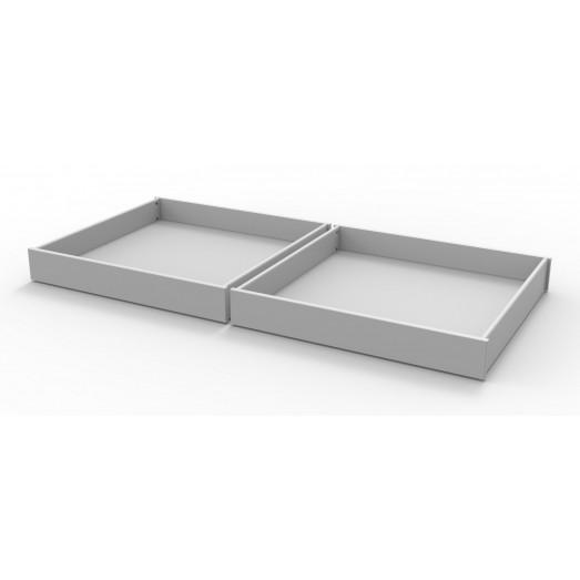 2 tiroirs de rangement Dominique - ouvert
