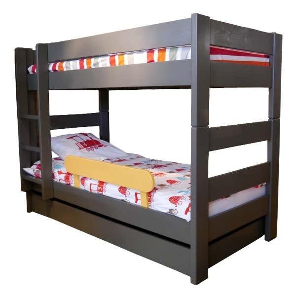 Tiroir lit Dominique pour lit junior et lit superposé fond multiplex coloré