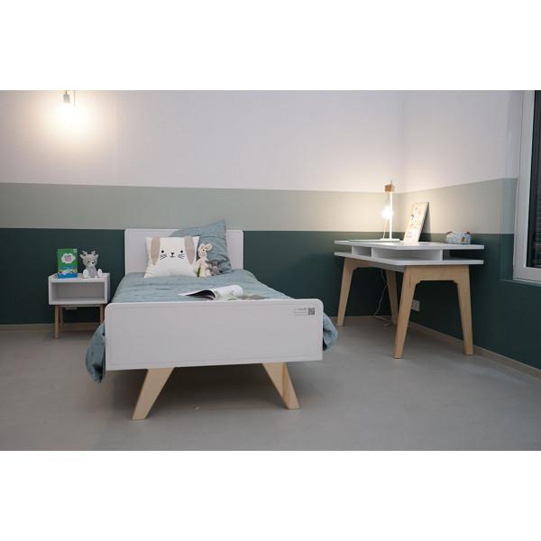 Chambre MADAVIN Lit_chevet_bureau_pieds bouleau