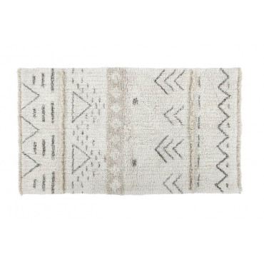 Tapis lavable en laine - Lakota Day 80 x 140 cm
