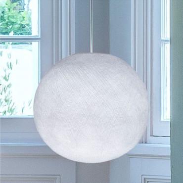 Abat-jour Globe - Blanc