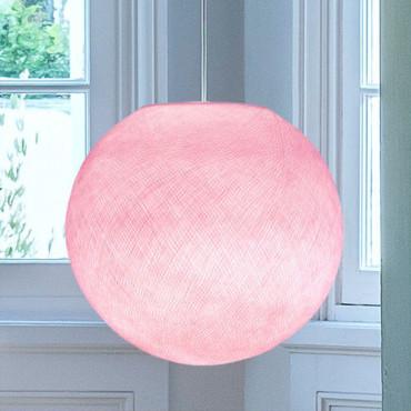 Abat-jour Globe - Rose poudré